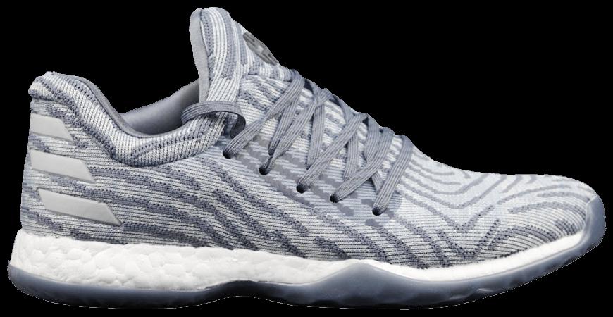 4418882efc24 ... AC8408 New  2018 sneaker a0f6d 9ef46 Harden Vol. 1 LS Primeknit Raw  Steel ...