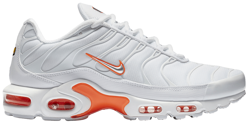 newest 64342 aa9f0 store nike air max plus white and orange d6ffc 8f699