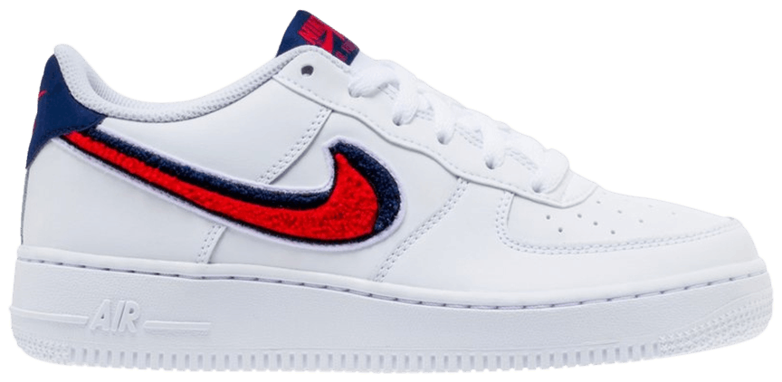 Air Force 1 LV8 GS 'Chenille Swoosh'