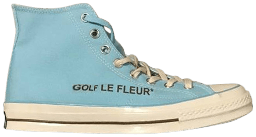 Golf Le Fleur X Chuck 70 High Blue Converse 163863c Goat