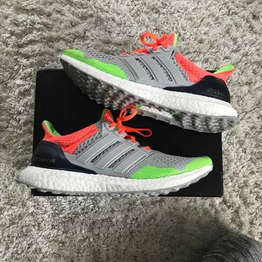 197a47406 View our Purchase   Return Policy. Lowest Price.  550. SneakerKolor x UltraBoost  1.0  Solar Orange