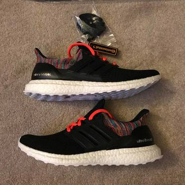 591d38c9bab These shoes are Final Sale. View our Purchase   Return Policy. Lowest  Price.  245. SneakerMi Adidas UltraBoost  Rainbow