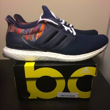 b2cfc469541 These shoes are Final Sale. View our Purchase   Return Policy. Lowest  Price.  450. SneakerMi Adidas UltraBoost  Rainbow
