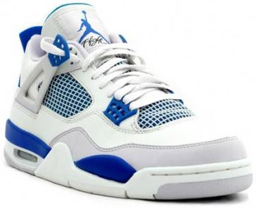 3942ecf4ebe Air Jordan 4 Retro 'Military Blue' 2006 - Air Jordan - 308497 141 | GOAT