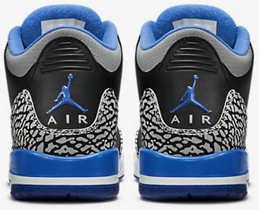 991a48ffff3fc3 Air Jordan 3 Retro BG  Sport Blue  - Air Jordan - 398614 007