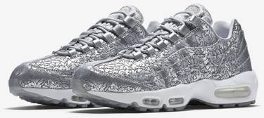 official photos cf77c cbefd Air Max 95 20th Anniversary  Pure Platinum . Nike