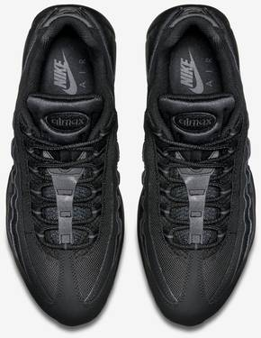 new concept 499bd 3c86f Air Max 95  Triple Black . Nike