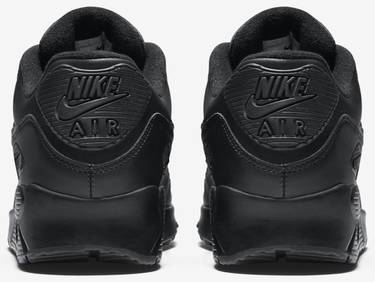 size 40 631eb 07687 Air Max 90 Leather 'Black'