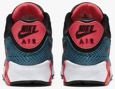 5b17a606bab4 Air Max 90 Anniversary  Infrared Snake  - Nike - 725235 300