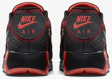 725222 600 Nike Air Max 90 Ultra Br Team Rot Schwarz