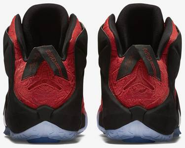 the latest 4d65d 2d110 LeBron 12 EXT 'Red Paisley'
