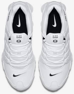 new concept f8fe0 f9af9 Shox NZ EU 'White Black'