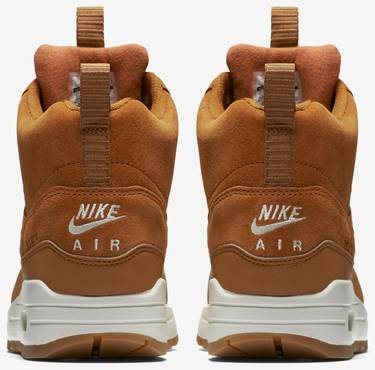 Wmns Air Max 1 Mid Sneakerboot 'Tawny Gum' Nike 685267