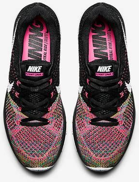 promo code 84b83 47aec Wmns Flyknit Lunar 3  Pink Pow Blue Lagoon . Nike