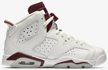 sports shoes 688bf c41c8 Air Jordan 6 Retro OG BG 'Maroon' 2015