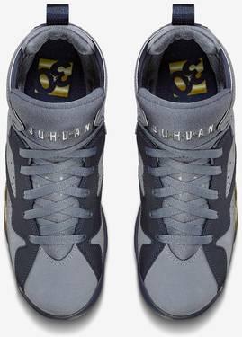 0aa3beacf2a5be Air Jordan 7 GG  Blue Dusk  - Air Jordan - 442960 407