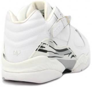 huge discount 8cb29 0f8b9 Air Jordan 8 Retro Low 'White Metallic Silver' 2003
