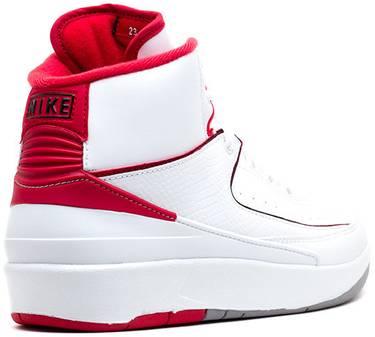 new style a99e9 69454 Air Jordan 2 Retro BG 'White Varsity'