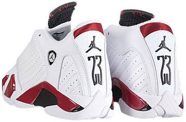 eb46064434a3 Air Jordan 14 Retro GS  Candy Cane  2012 - Air Jordan - 487524 101 ...