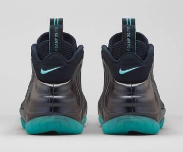 cdcf2d74e0f Air Foamposite Pro  Aqua . The Nike Air Foamposite Pro  Aqua  showcases a  glossy Dark Obsidian ...