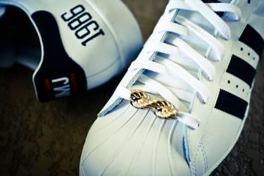 reputable site da6f5 5e7a5 Run DMC x Superstar 80s 'My Adidas' - adidas - G48910 | GOAT