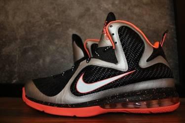 959d07318eaa LeBron 9  Bright Mango  - Nike - 469764 005
