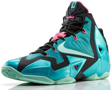 1f5ab2012df LeBron 11 GS  South Beach  - Nike - 621712 303