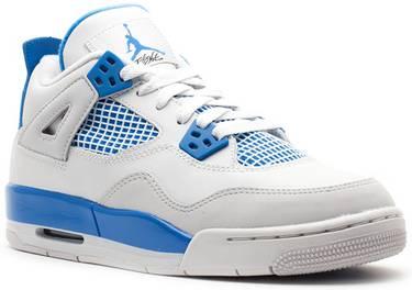 best website 58adb adfec Air Jordan 4 Retro GS 'Military Blue' 2012