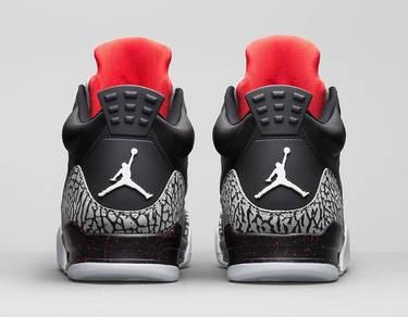 the best attitude 1d599 60400 Jordan Son of Mars Low 'Black Cement'