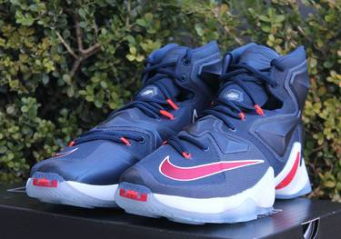 huge selection of 471a2 742af LeBron 13  USA  - Nike - 807219 461   GOAT