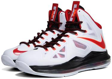 hot sale online e684e e8d49 LeBron 10  Heat Home . Nike