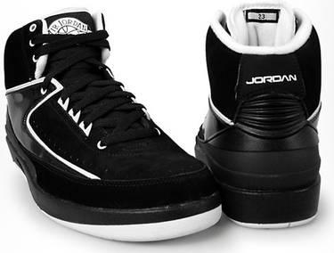 low priced 079fb 7b95b Air Jordan 2 Retro QF 'Black White'