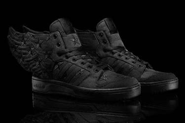 premium selection 35c08 8eca7 JS Wings 2.0 Black Flag  ASAP Rocky . adidas