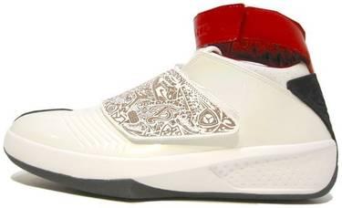 the latest f2d8a 07f21 Air Jordan 20 OG  White Varsity Red