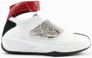 the latest 67665 4e4e7 Air Jordan 20 OG  White Varsity Red