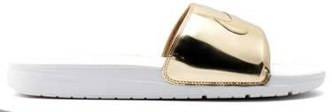 89365bd07 Benassi Solarsoft Slide Sp  Liquid Gold  - Nike - 696116 770