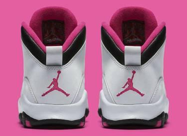 ee73215704f Air Jordan 10 Retro GG 'Vivid Pink' - Air Jordan - 487211 008 | GOAT