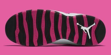 4520c666c10134 Air Jordan 10 Retro GG  Vivid Pink  - Air Jordan - 487211 008