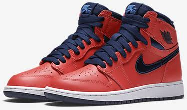 new concept fe99e 03783 Air Jordan 1 Retro BG  Letterman