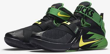 best sneakers 5f596 876a0 Zoom LeBron Soldier 9 Prm 'Oregon'