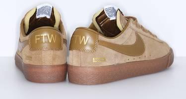 Supreme X Sb Blazer Low Gt Golden Beige Nike
