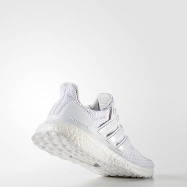 60a1f25e7ff9b UltraBoost 2.0 J  Triple White  - adidas - BA9274