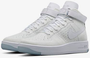 pretty nice 716d2 f62d4 Air Force 1 Ultra Flyknit Mid 'White'