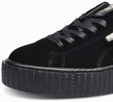 various colors 7959f d6d21 Fenty x Wmns Velvet Creeper 'Black'