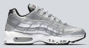 319c0dbee1 Air Max 95 QS 'Silver Bullet' - Nike - 918359 001   GOAT