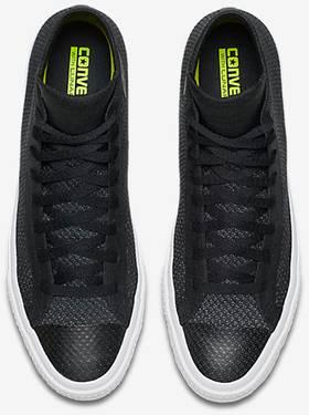 7944a27dfb03 Nike x Chuck Taylor All Star High Flyknit  Black  - Converse ...