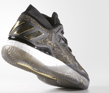 b4f06519acec Crazylight Boost Low 2016  Black Gold  - adidas - B39061