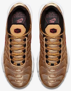 02db79de4f42 Wmns Air Max Plus QS  Metallic Gold  - Nike - 887092 700