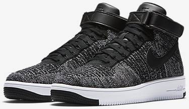 new concept c709c 6472d Air Force 1 Ultra Flyknit Mid 'Oreo'
