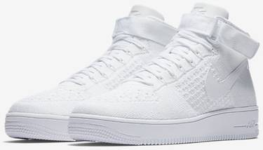 newest df4b8 2697f Air Force 1 Ultra Flyknit Mid 'Triple White'